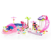 mega bloks barbie build style pool