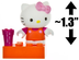 hello kitty flower mini-figure world mega