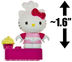 hello kitty pastry chef cupcake mini-figure