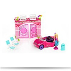 Mega Bloks Barbie Build N Style Convertible
