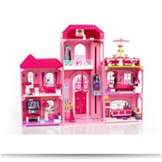 Mega Bloks Barbie Build N Style Luxury