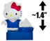 hello kitty sailor sailboat mini-figure world