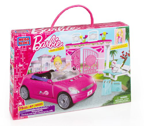 Mega Bloks - Barbie - Build 'n Style Convertible