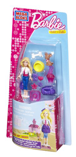 Mega Bloks - Barbie - Puppy Pals Barbie