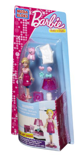 Mega Bloks - Barbie - Slumber Party Barbie