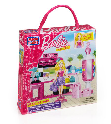 Mega Bloks - Barbie - Build 'n Style Fashion Stand
