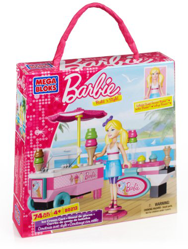 Barbie Build n Style Ice Cream Cart