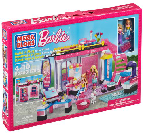 Barbie Build n Play Glam Salon